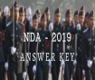 NDA 2 Answer Key Maths & GAT