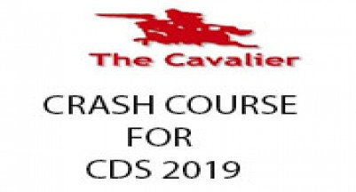 Crash Course for CDS - I, 2019 Examination
